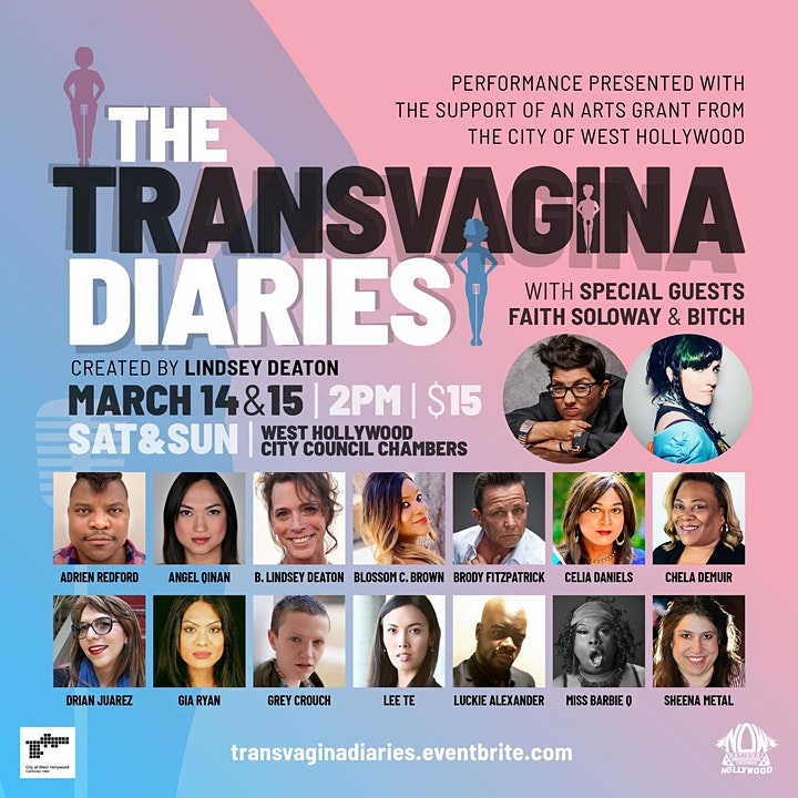 The Transvagina Diaries  (Virtual Watch Party) image