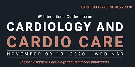 6th International Conference on Cardiology and Cardio care tickets