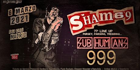SHAM 69 + SUB-HUM-ANS + 999