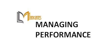 Managing Performance 1 Day Virtual Live  Training in Frankfurt tickets