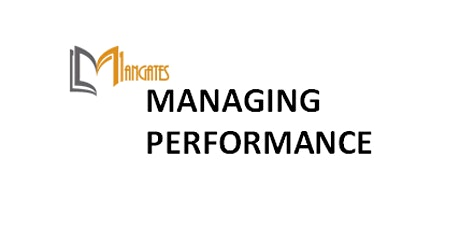 Managing Performance 1 Day Virtual Live  Training in Stuttgart tickets