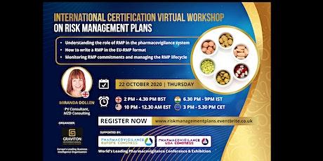 Risk Management Plans - International Certification Virtual Workshop