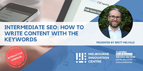 [WEBINAR] Intermediate SEO: How to Write Content with the Keywords tickets
