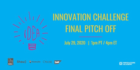 LOI Impact Innovation Challenge Pitch Off tickets