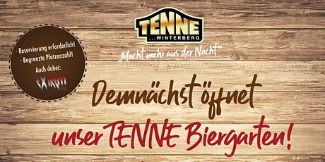 Tenne Biergarten Tickets
