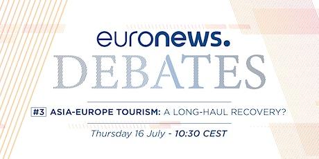 Euronews virtual debates - Travel & Tourism tickets