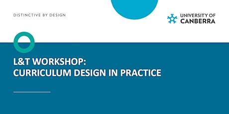L&T workshop: Curriculum Design - In Practice tickets