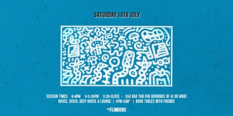 Sat 18th July | 6-9PM tickets