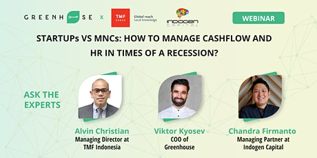 Startups VS MNCs: How to manage cashflow and HR in times of a recession? tickets