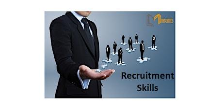 Recruitment Skills 1 Day Training in San Francisco, CA tickets