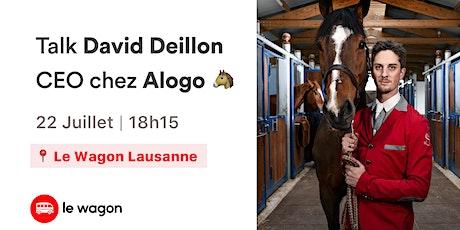 Talk avec David Deillon - La Tech au service du sport Equestre tickets