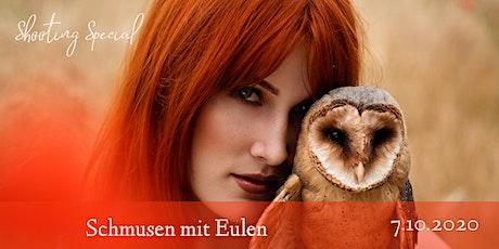 """Shooting Special """"Schmusen mit Eulen"""" Tickets"""