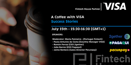 A Virtual Coffee with Visa:  Success Stories tickets