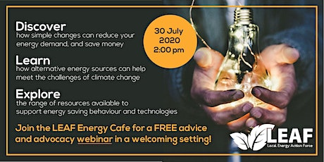 Pembrokeshire LEAF - Energy Cafe tickets