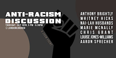 Anti-Racism Discussion tickets