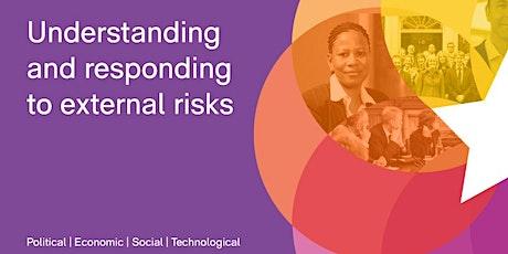 CBI Online Workshop - Understanding and responding to external risks tickets