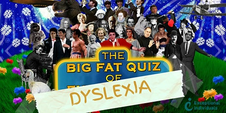 The Big Fat Dyslexic Quiz tickets