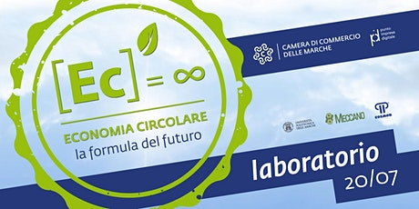 """Laboratorio del Ciclo di Webinar: """"Introduzione all'Economia Circolare """" tickets"""