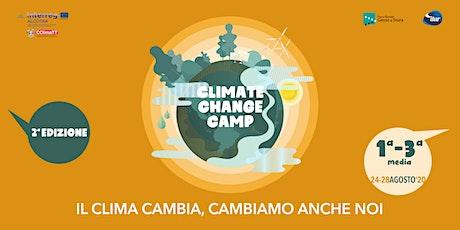 CLIMATE CHANGE CAMP - 2^ EDIZIONE biglietti