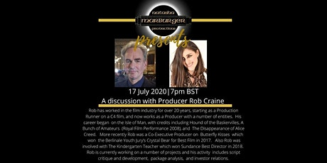 Natasha Marburger presents a discussion with Producer Rob Craine tickets