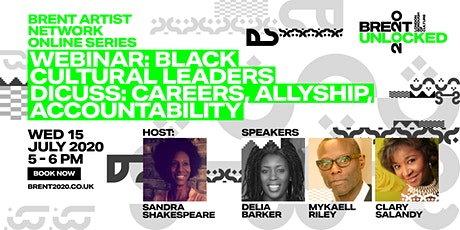 Black Cultural Leaders Discuss: Careers, Allyship, Accountability tickets