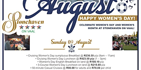Women's Day At Stonehaven On Vaal tickets