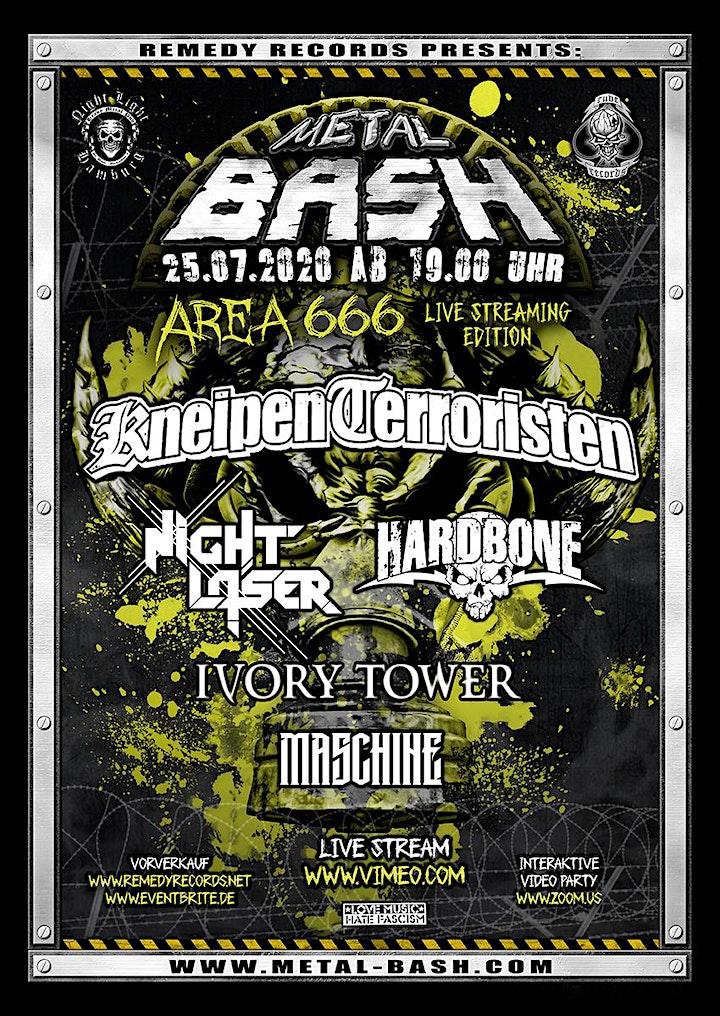 Metal Bash Area 666 Live Streaming Edition: Bild