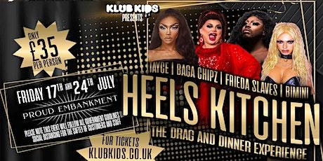 Klub Kids London - Heels Kitchen (ages 18+) tickets