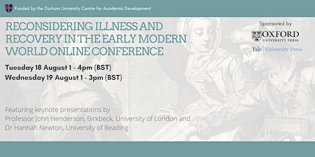 Reconsidering Illness and Recovery in the Early Modern World tickets