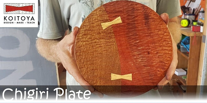 Chigiri Plate Making - KOITOYA Woodworking Class 2021 image