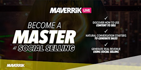 Become a Master at Social Selling tickets
