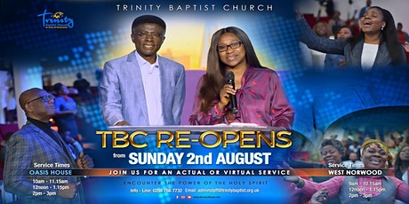 Afternoon Family Actual Service At TBC~Croydon tickets