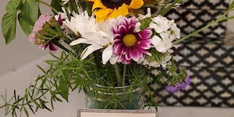 Mason Jar Floral Arranging & Gift Tags tickets