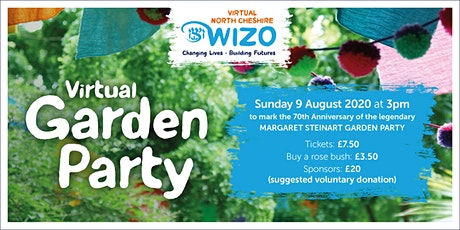 North Cheshire WIZO - Virtual Garden Party tickets