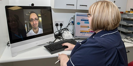Webinar: NHS video appointments – are they working? tickets