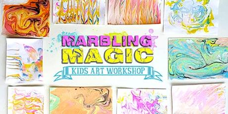Marbling Magic tickets