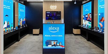 Alexa ti aiuta a restare in contatto con la tua famiglia e gli amici biglietti