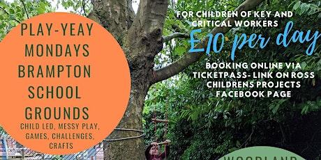 Summer Play Days  Play-Yeay Mondays! tickets