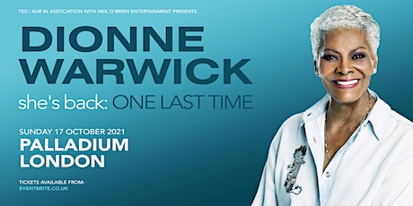 Dionne Warwick (The London Palladium, London) tickets