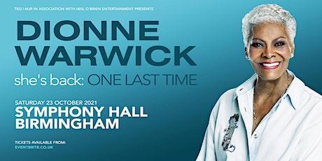 Dionne Warwick (Symphony Hall, Birmingham) tickets