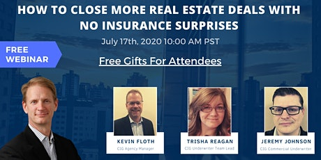 How to Close More Real Estate Deals With No Insurance Surprises tickets