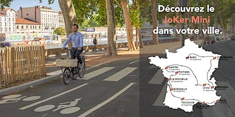 Toulouse - Démo JoKer Bike -  Fourche Cargo billets