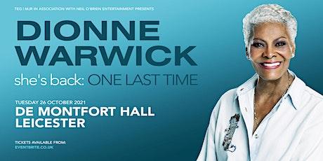 Dionne Warwick (De Montfort Hall, Leicester) tickets