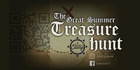 QR Treasure Hunt tickets