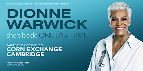 Dionne Warwick (Corn Exchange, Cambridge) tickets