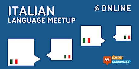 Italian Online Language Meetup tickets