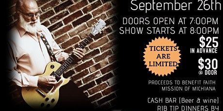 Duke Tumatoe Blues Fundraiser Show For Faith Mission of Michiana tickets