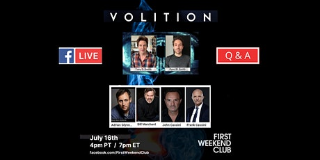 LIVE VOLITION Q&A tickets