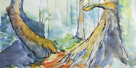 Watercolour Summer Landscapes - Painting Techniques tickets