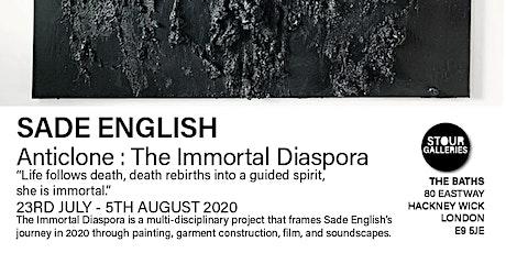 Sade English Exhibition 'The Immortal Diaspora' tickets